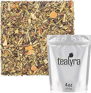 Tealyra - Wonder Ayurvedic Chai - Sweet Spicy - Detox Tea - Yerba Mate - Green Rooibos - Formosa Oolong - Ginger - Healthy Loose Leaf Tea - Vitamins Antioxidants Rich - Low Caffeine - 100g (3.5-ounce)