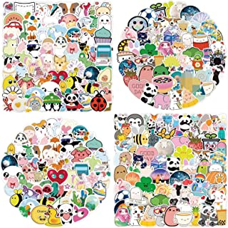 200pcs Animal Stickers,Anime Gaming Water Bottle Stickers Pack,Waterproof Durable Vinyl Encouragement Stickers for Teens K...