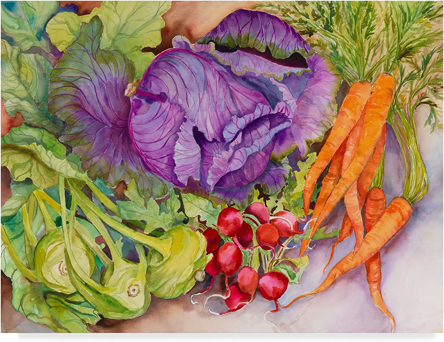 Fall Vegetables by Joanne Porter, 14x19Inch
