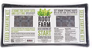 Root Farm 10101-10084 Seed Germination Kit for Hydroponic Seedlings-Starts 50 Plants, Easy to Use