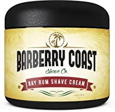 SALE - Bay Rum Shaving Cream for Men - Made with Shea Butter, White Tea & All Natural Ingredients - Full of Organic Soothers, Moisturizers & Anti-Oxidants