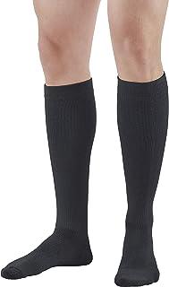 Ames Walker AW Styles 120/125/150 Coolmax 20 30 Knee High Socks Black Large