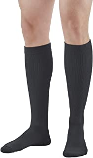 Ames Walker AW Styles 120/125/150 Coolmax 20 30mmHg Knee High Socks Black MD