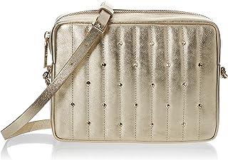 حقيبة طويلة تمر بالجسم للنساء من كيت سبيد، لون ذهبي