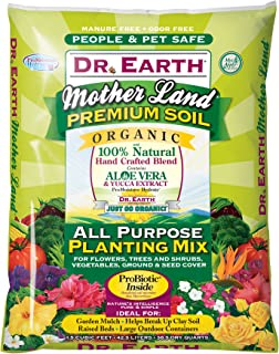 dr earth planting mix