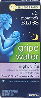 Mommys Bliss, Gripe Water Night Time, 4 Fl Oz