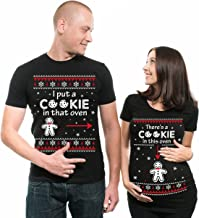 Silk Road Tees Christmas Couple Matching Maternity Tees Best Gift Pregnancy Shirt