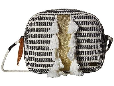 Roxy Beautiful Minds Small Crossbody Bag (True Black) Cross Body Handbags
