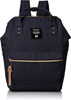 [Anero] [Official] Poly Canvas Cap Mini Backpack AT-B0197B Navy