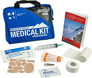 Adventure Medical Kits Mountain Series Weekender First Aid Kit, Backcountry Medical Care, Comprehensive Guide, Easy Care, Water-Resistant Zipper, Durable Case, Lightweight, 1.9lb