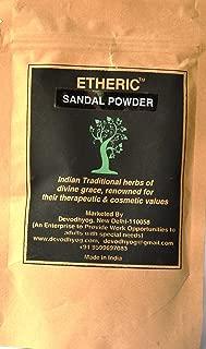 ETHERIC Natural Sandal Powder, 100 gm