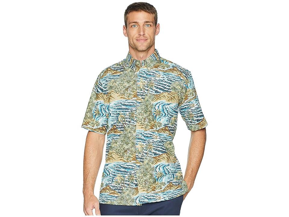 Reyn Spooner Sumatra Slide Classic Fit Aloha Shirt (Azure) Men