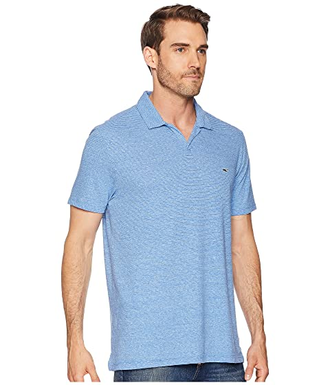 Johnny Lino Algodón Breeze Collar Ocean Polo Vineyard Vines Rayas EwtqnwI4