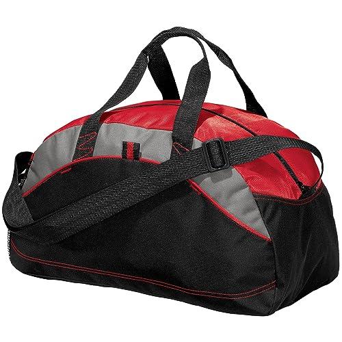 free shipping 4c8c5 120d3 Joe s USA(tm) - Small Red Gym Bag Duffle Workout Sport Bag- Travel