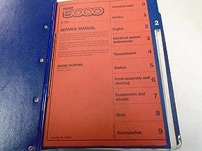 1986 - 1995 Saab 9000 2 Engine Service Repair Shop Manual FACTORY OEM BOOK Set *