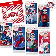 Elf on The Shelf Claus Couture 2018 Complete Scout Elf Accessories Pack, Set of 6 Outfits with Exclusive Joy Travel Bag