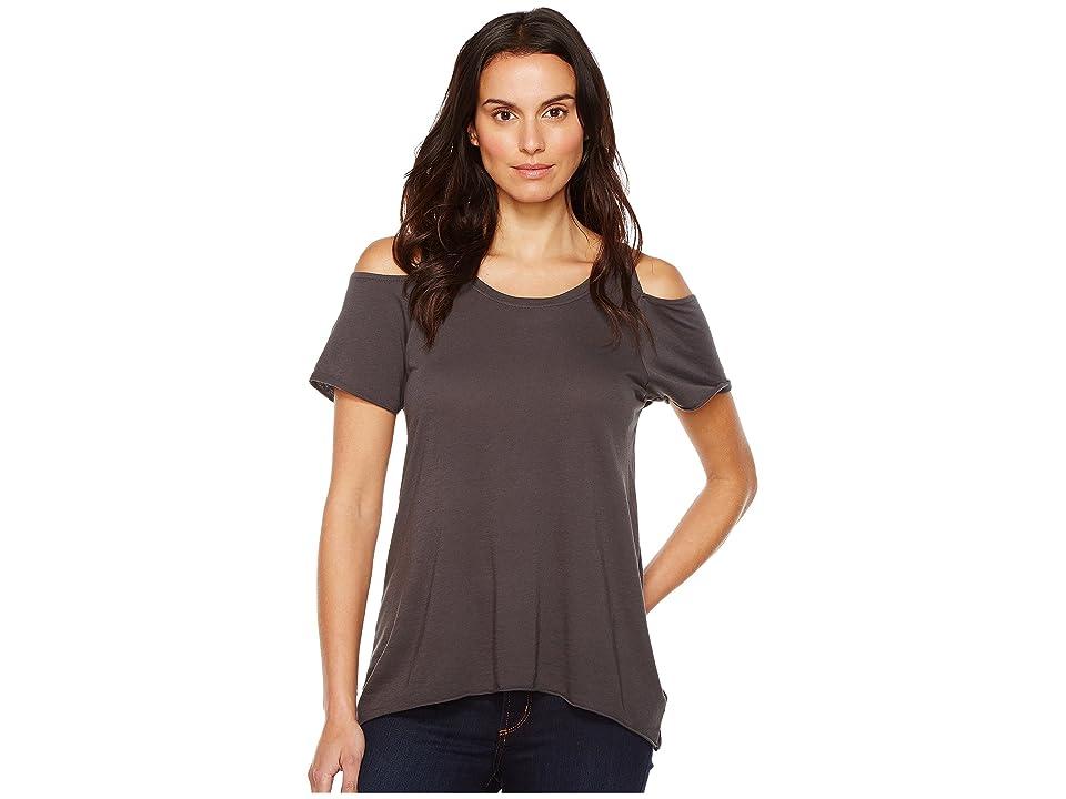 LAmade Jana Cut Tee (Raven) Women's T Shirt