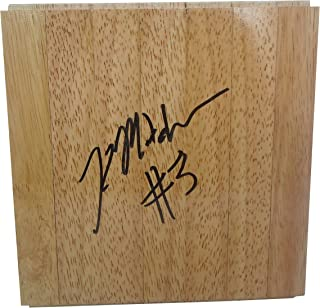 9290327b17456 Indiana Fever Kelsey Mitchell Autographed Hand Signed 6x6 Parquet  Floorboard with Proof Photo of Signing