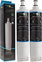 FilterLogic FFL-190W   2er Pack - Wasserfilter kompatibel mit Bauknecht SBS103, 484000008723 - SBS003, 481281719155 / Whirlpool SBS200, 484000008726 - SBS002 Filter, Kühlschrank Wasserfilterpatrone