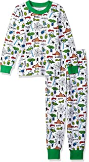 Sara's Prints Kids' Super Soft Relaxed Fit Pajama Set