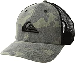 683cc105 Quiksilver reeder trucker hat camo, Accessories | Shipped Free at Zappos