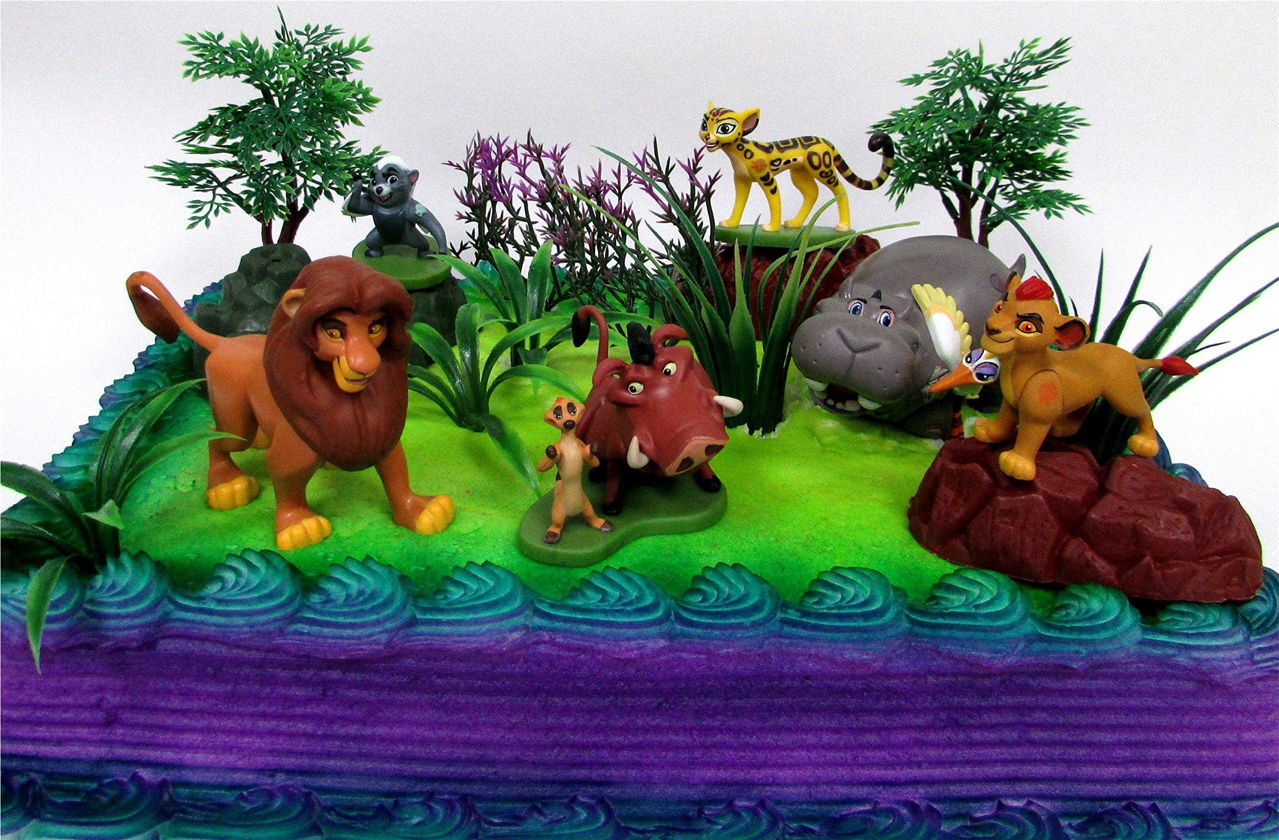 Strange The Lion King Lion Guard 19 Piece Birthday Cake Topper Figure Funny Birthday Cards Online Bapapcheapnameinfo