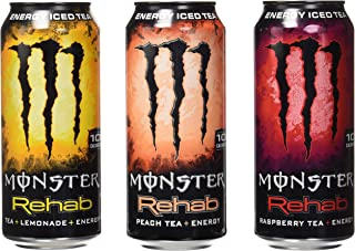 Monster Rehab Tea Plus Energy 24 Piece Variety Pack