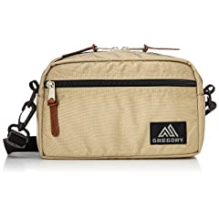 Padded Shoulder Pouch M: Sand