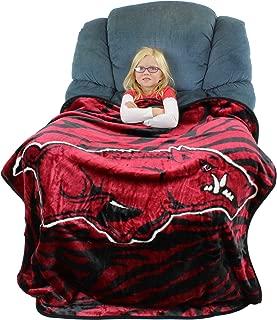 College Covers Arkansas Razorbacks Raschel Throw Blanket, 50
