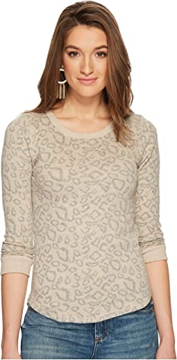 Lucky Brand - Cheetah Print Pullover
