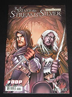 R.A. SALVATORE FORGOTTEN REALMS STREAMS OF SILVER #3 DDP COMIC BOOK (FORGOTTEN REALMS, 1ST)