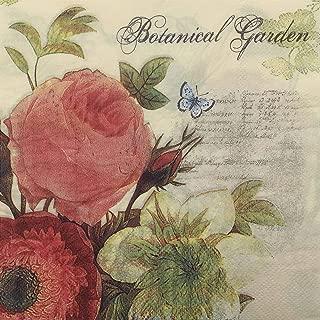 Botanical Garden, Paper Napkins, 20 Count