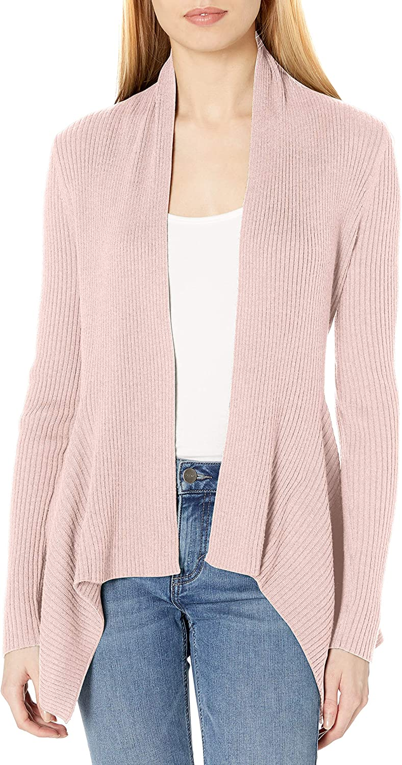 cardigan-sweaters Mujer Daily Ritual Ultra-soft Ribbed Draped Cardigan Sweater Marca