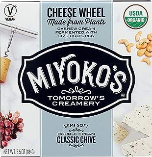 Miyoko's Creamery Classic Double Cream Chive Artisan Vegan Cheese, 6.5 oz