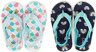 Unisex-Child Augusta Two-Pack Flip-Flop Set