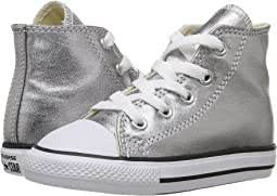 Converse Kids Chuck Taylor® All Star® Metallic Canvas Hi (Infant/Toddler)