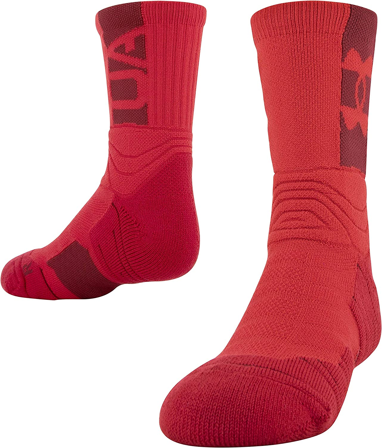 Under Armour Youth Playmaker Mid-Crew Socks, 1-Pair