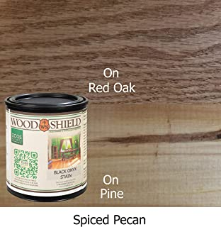 ECOS WoodShield Interior Wood Stain, 1 Quart, Spiced Pecan