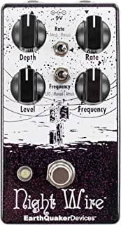 EarthQuaker Devices Night Wire V2 Harmonic Tremolo Guitar Effects Pedal
