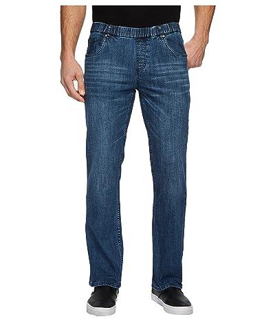 NBZ(r) Elastic Waist Straight Leg Jean in Sunrise Blue (Sunrise Blue) Men