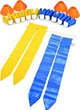 SKLZ Flag Football 10-Player Deluxe Set with Flags, Belts, and Cones