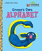 Grover's Own Alphabet (Sesame Street) (Little Golden Book)