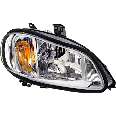 Driver side WITH install kit 100W Halogen 2013 Freightliner COLUMBIA DAYCAB Side Roof mount spotlight 6 inch -Black