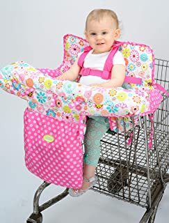 nuby shopping cart cover ditsy floral