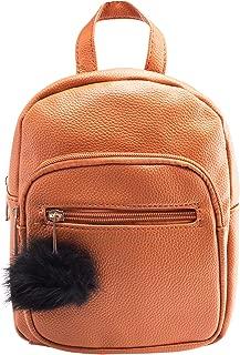 Mini Backpack - Leather - Tan