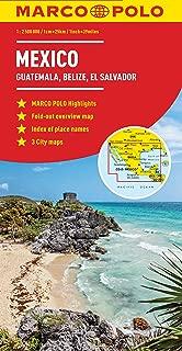 Mexico, Guatemala, Belize, El Salvador Marco Polo Map (Marco Polo Maps)