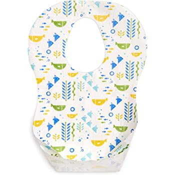 Baby Bibs with Sleeves Ideal For Feeding Time Boys and Girls Designs