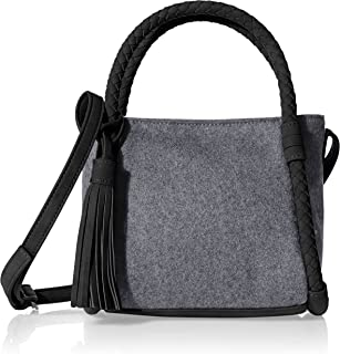 LABANCA Womens Small Crossbody Purse Plaid Shoulder Bags Leisure Messenger Crossbody Bag Black Plaid