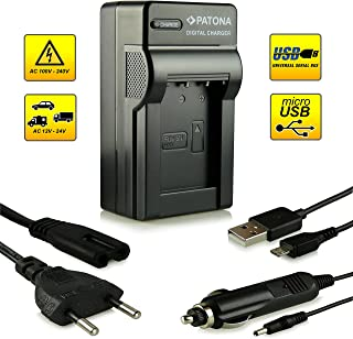 Novedad–4in1Cargador con conexión micro USB · 100% compatible con baterías NP-BX1para Sony Cybershot DSC-HX50/HX50V–DSC-HX300–DSC-RX1/DSC-RX1R–DSC-RX100/DSC-RX100II–DSC-WX300–HDR-AS15–HDR-HC7E GW66–HDR-GWP88y otros...