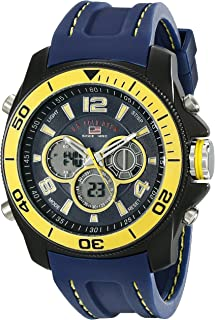 U.S. Polo Assn. Sport Men's US9322  Sport Watch with Navy...